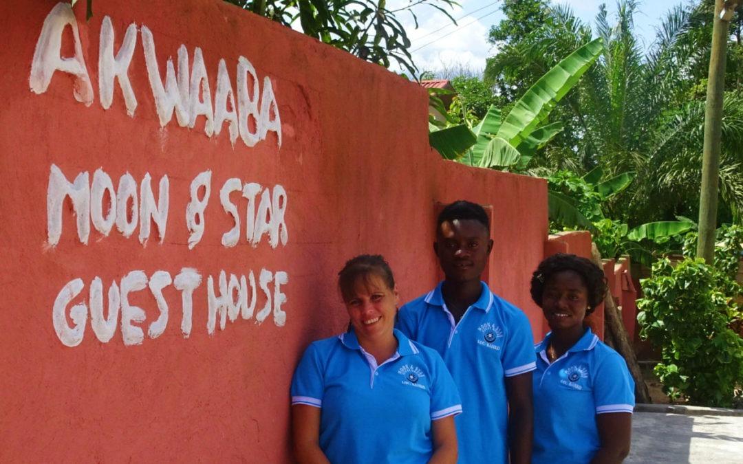 """Doelen en dromen voor 2020: """"Ik wil dat elke reiziger in Ghana ook Moon&Star guesthouse bezoekt"""""""